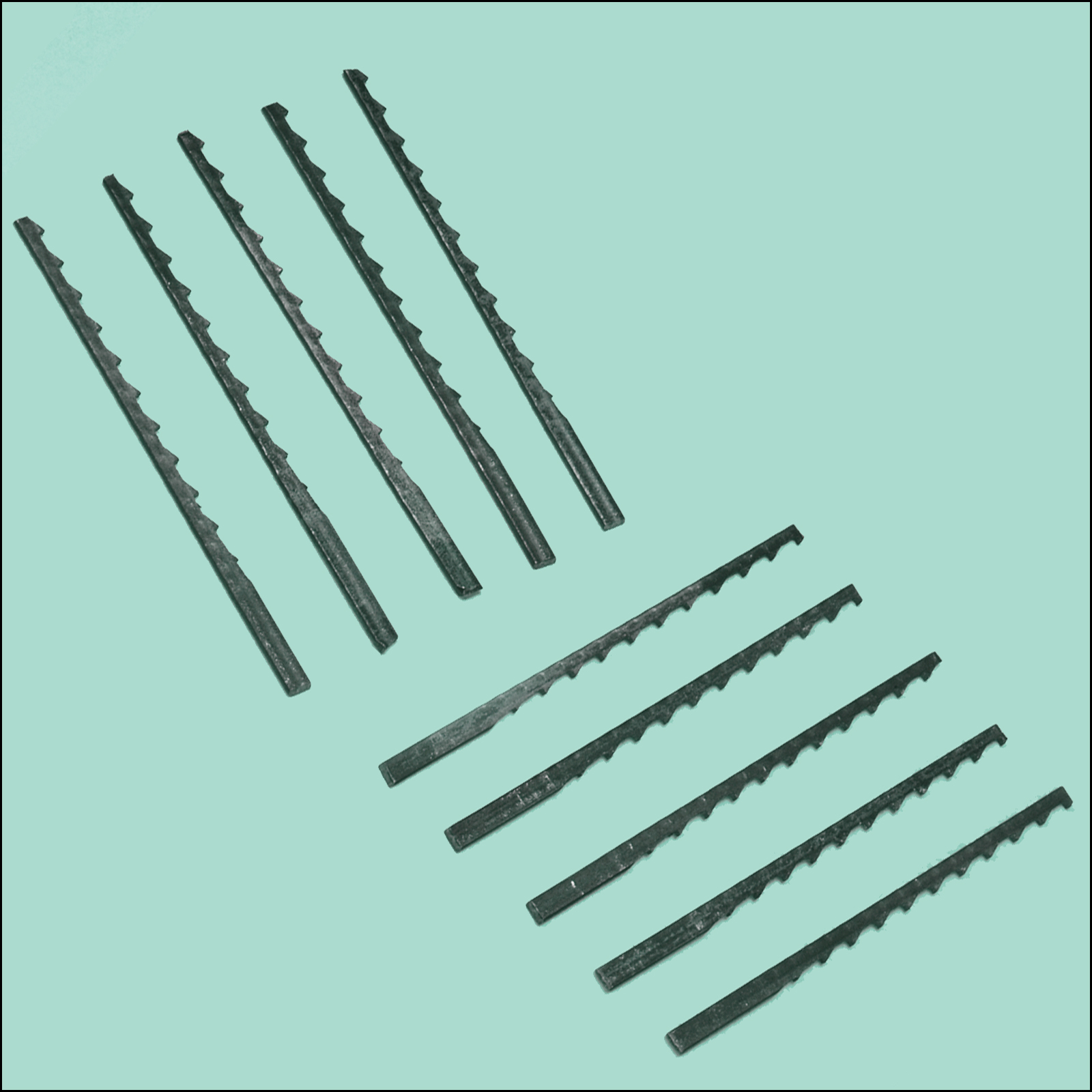 Jig Saw Blade, Coarse, Pkg. of 10