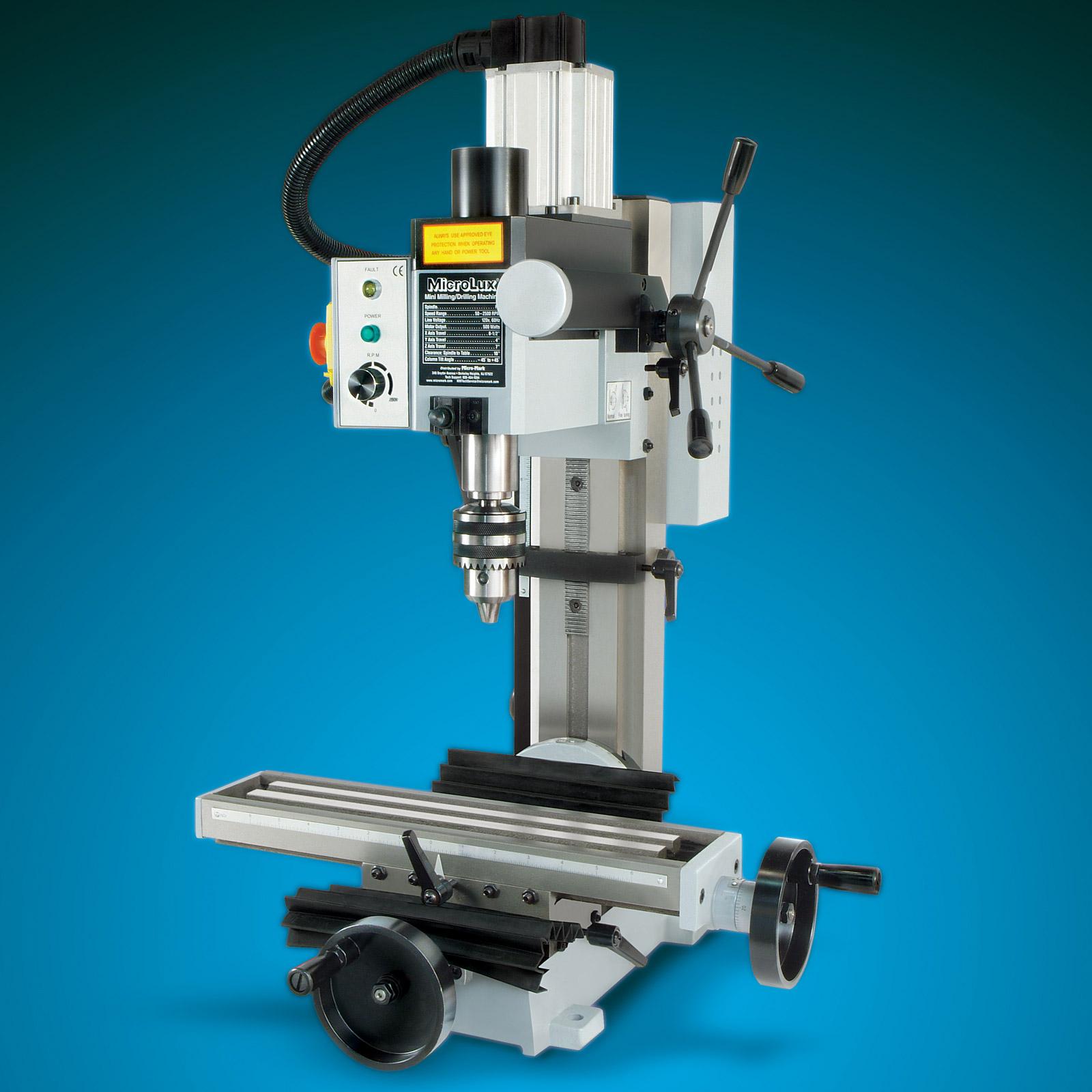 Microlux High Precision Heavy Duty R8 Miniature Milling Machine Bldc Cnc Wiring Schematic 500w