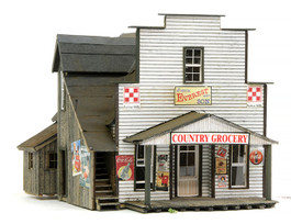HO Scale Everest Country Grocery St