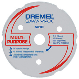 Dremel SM500 MultiPurpose Carbide