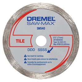 Dremel SM540 Tile Diamond Wheel