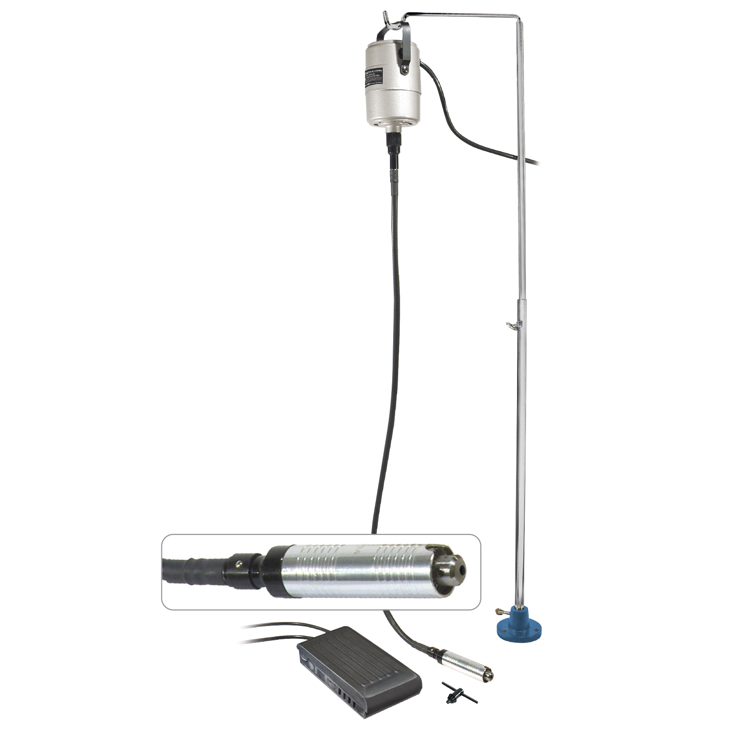 MicroLux Flex Shaft Machine