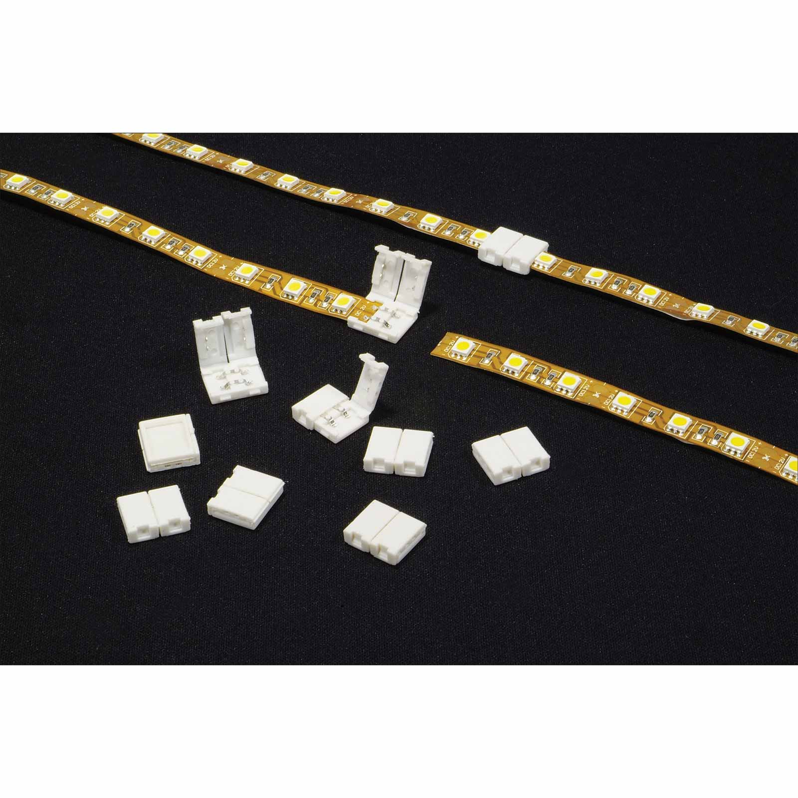 Led Strip Connectors Package Of 10