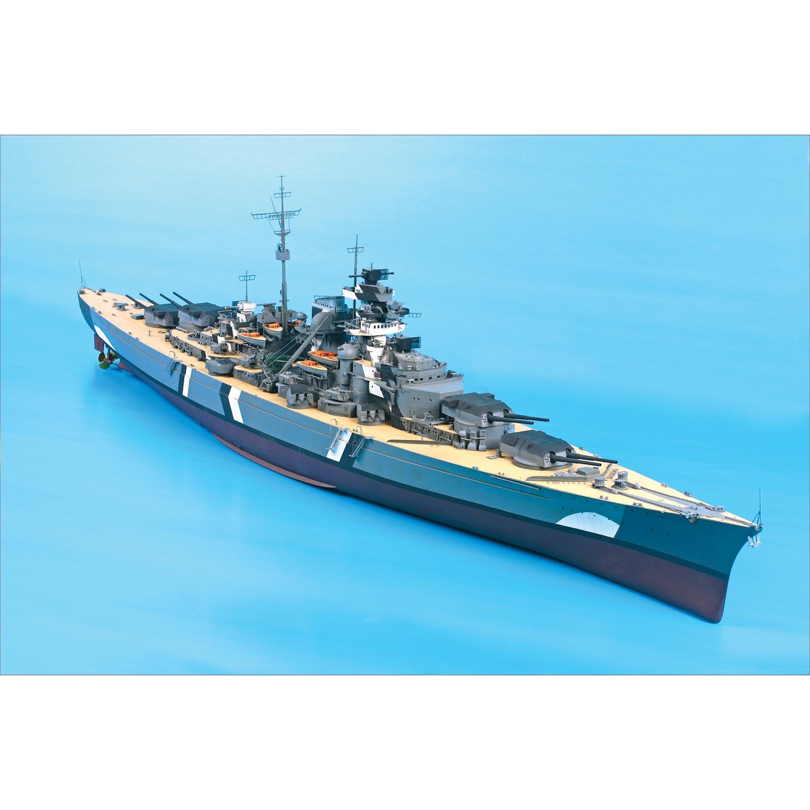 Battleship Bismarck Plastic Model Kit 1 200 Scale