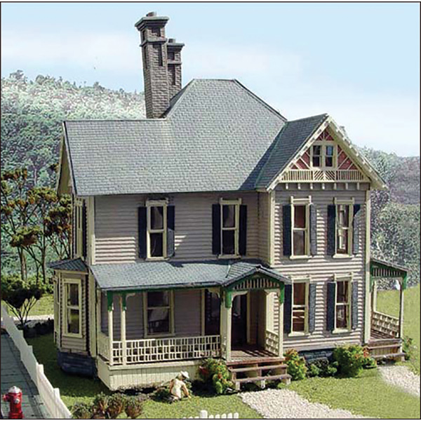 Dubois House Kit By Laser Art Structures Ho Scale