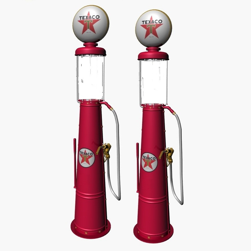 ho scale visible gas pumps  package of 2