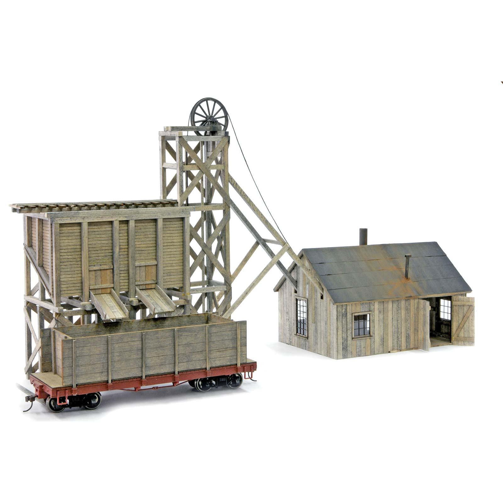 Little Creek Mining Model Kit Ho Scale