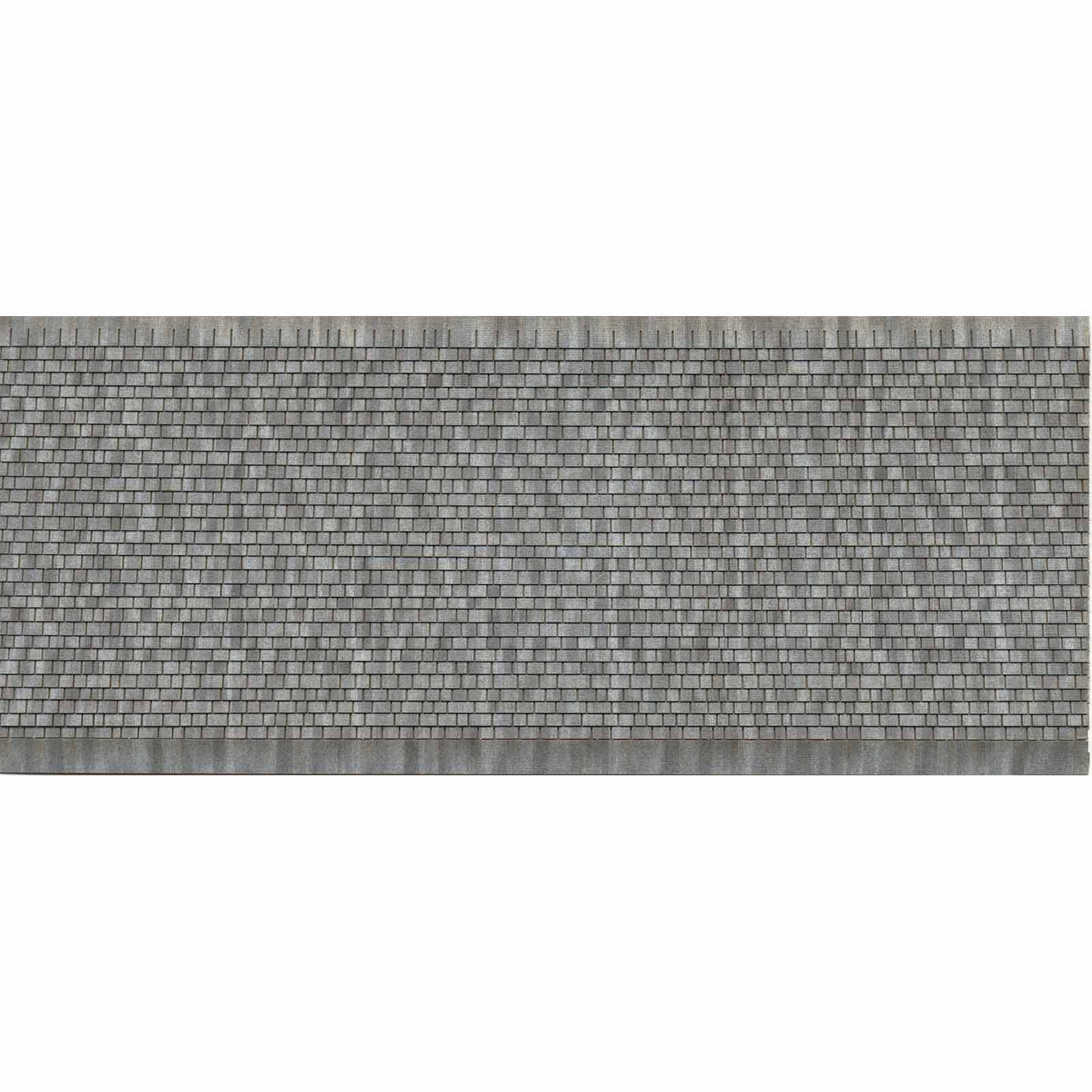 3 D Ho Scale Roof Shingles Gray Random Package Of 2