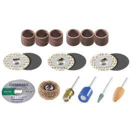 Dremel 18-piece EZ Lock kit