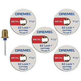 Dremel EZ Lock Cut-Off Wheel Set