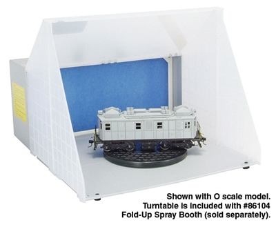 Spray Booth Turntable2