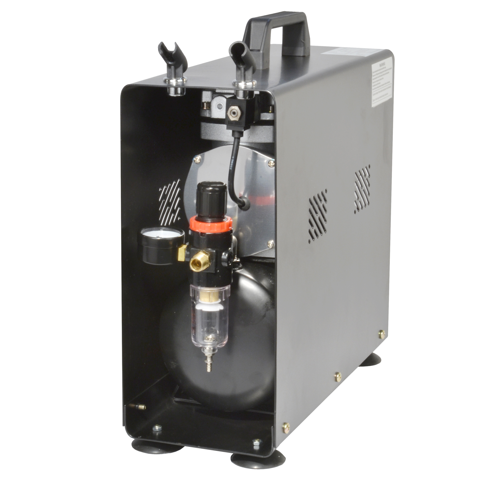 Twin-Cylinder Portable Air Compress