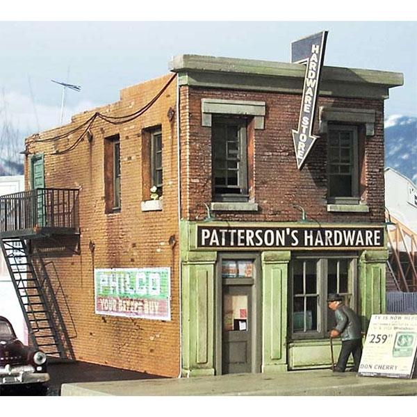 Downtown Deco Ho Scale Patterson Hardware Kit