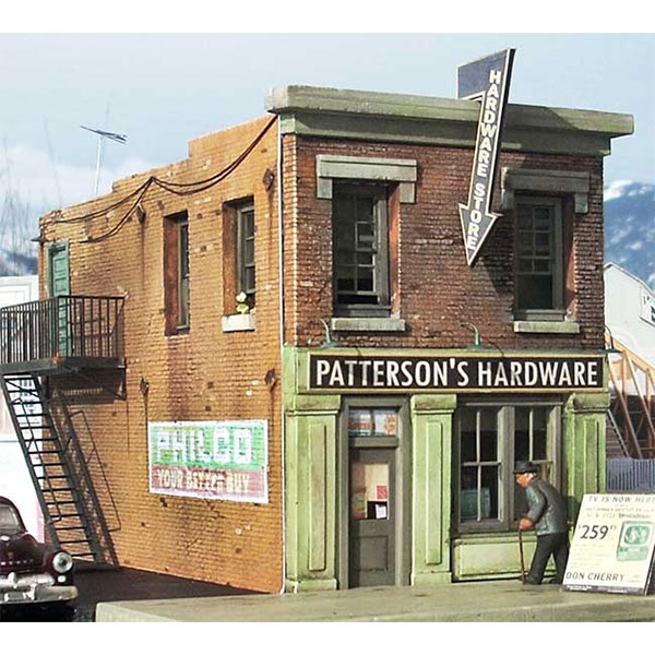 Downtown Deco O Scale Patterson Hardware Kit