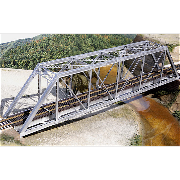 Central Valley Model Works 150 Through Truss Bridge With Gusseted Girders HO Scale