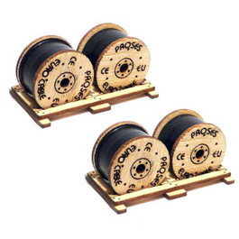 HO Scale Cable Drums Kit