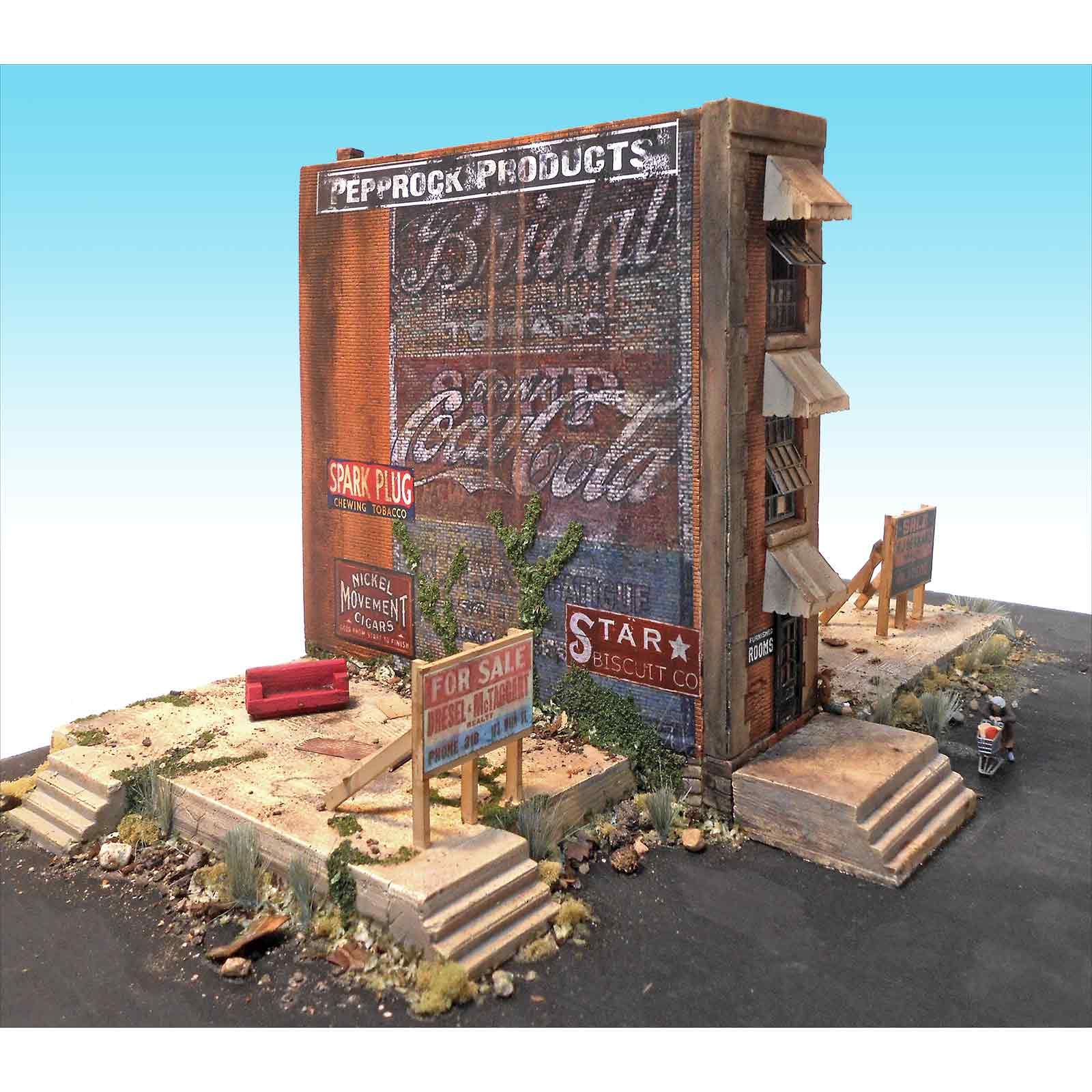 Downtown Deco Ho Scale The Worst Block In Town Kit