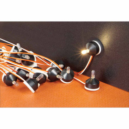 Miniature Peel & Stick LED Lamps