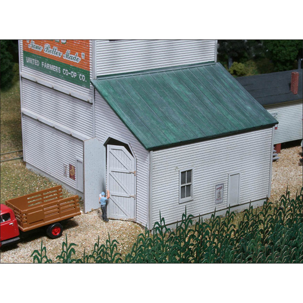LASERKit The Country Grain Elevator Kit, HO Scale