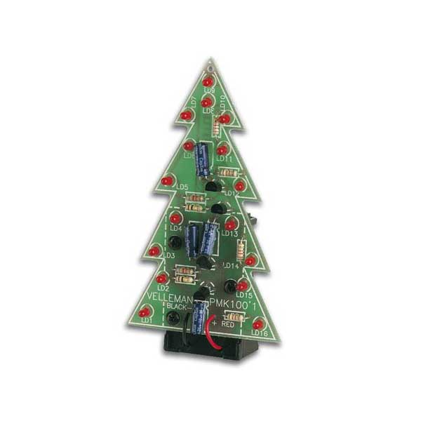 Electronic Christmas Tree Kit. Item #: 86689. Velleman MK100