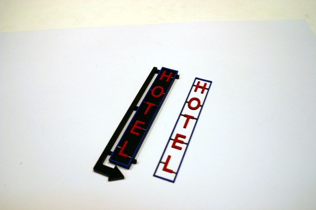 """Southside Paint And Body >> ITLA Scale Models Southside Hotel """"Shallow Relief"""" Kit, HO ..."""