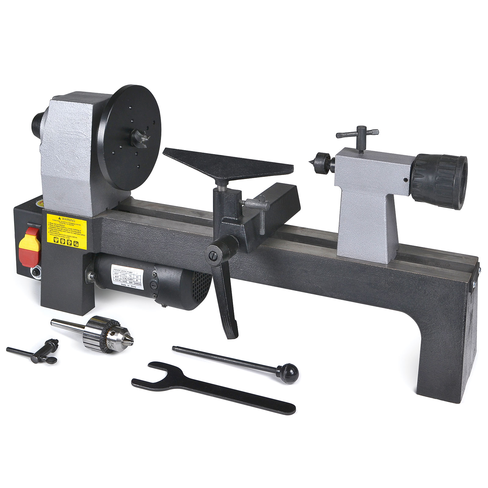 MicroLux 8 X 12 Woodturners Lathe Super Value Package