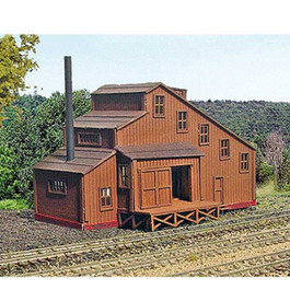 Flour Mill Kit by Laser Art Structures, N Scale
