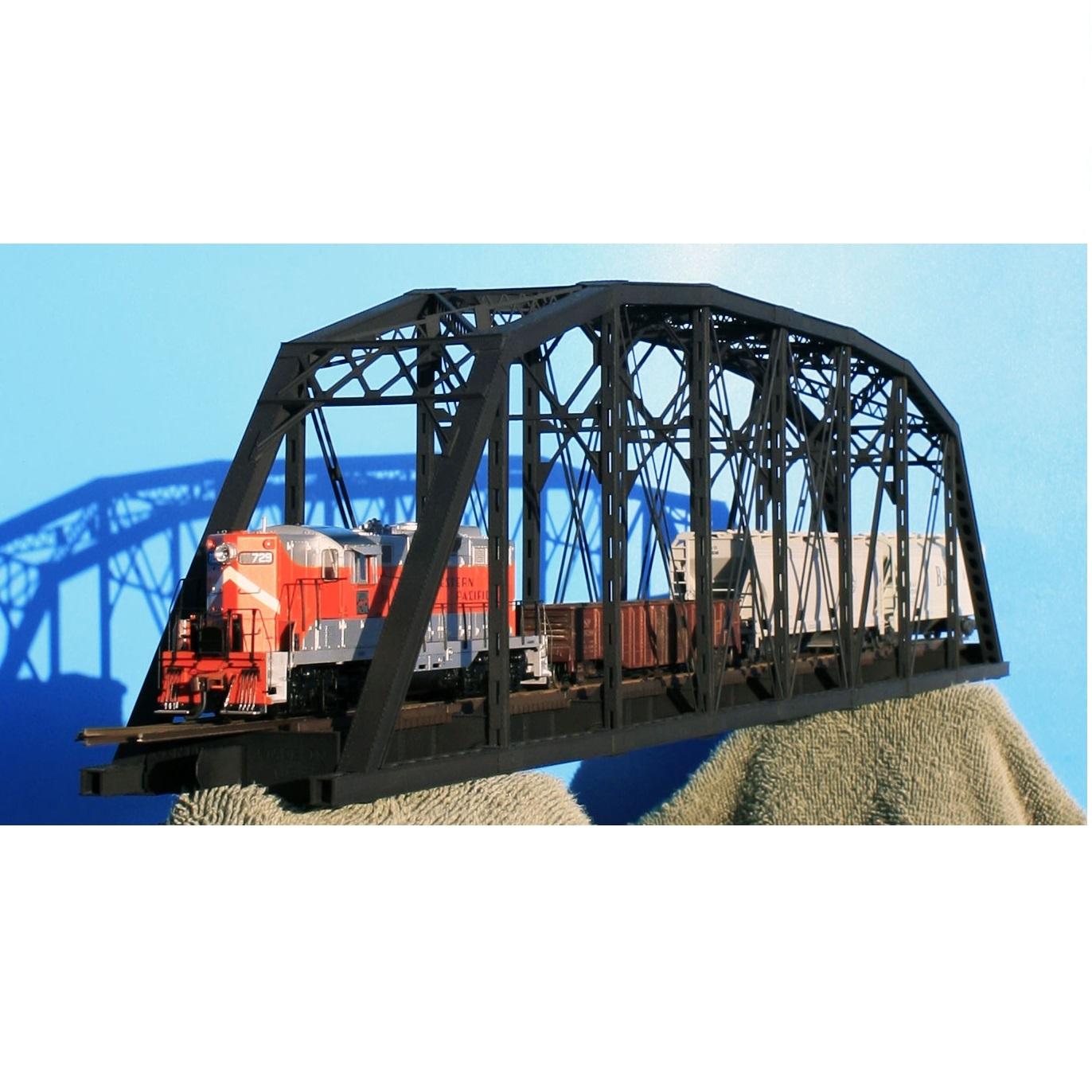 central valley model works 200 parker truss bridge kit ho scale