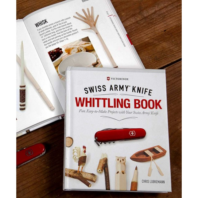 Swiss Army Knife Whittling