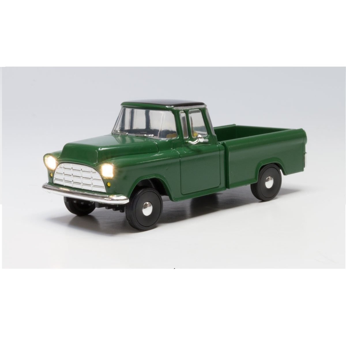 N Scale Green Pickup