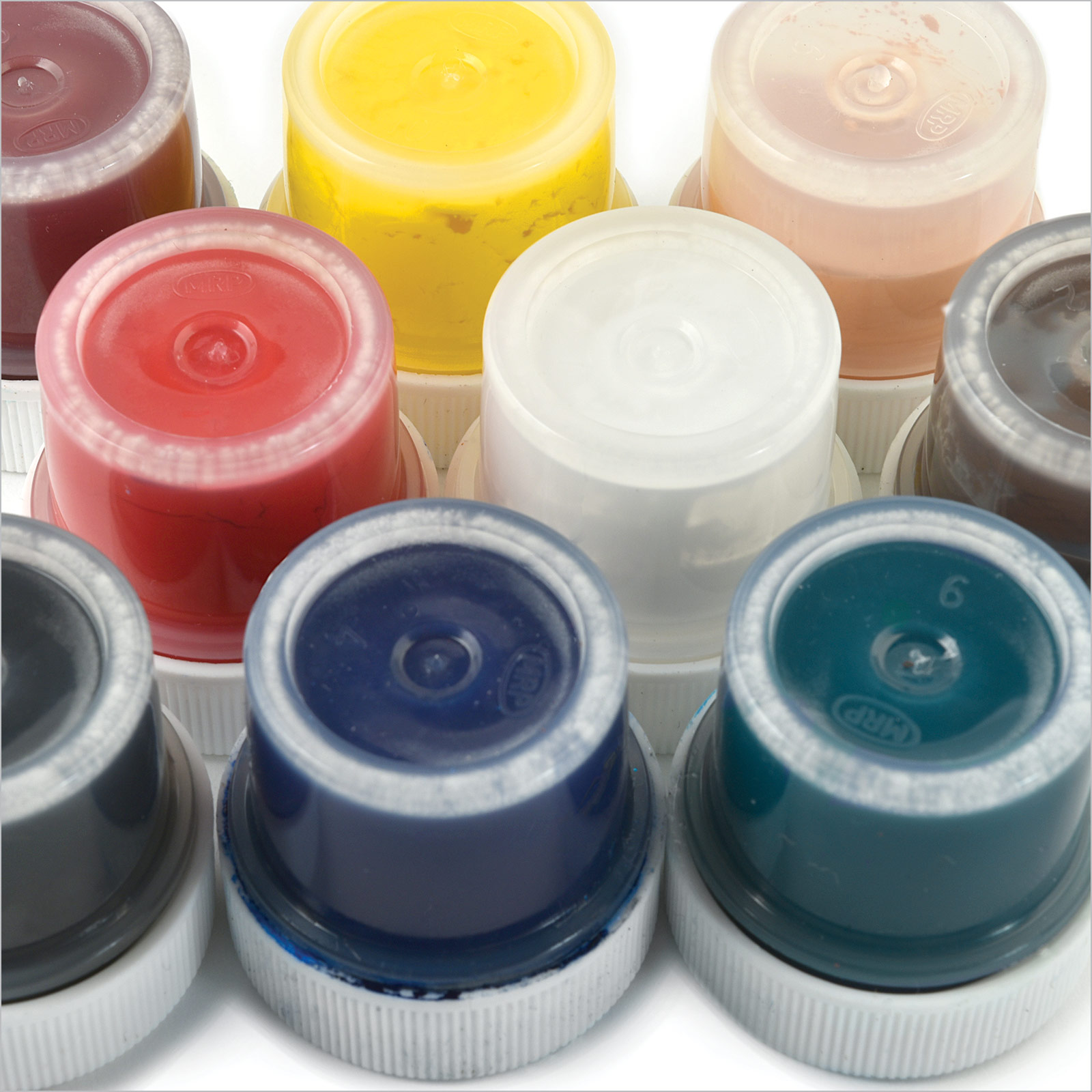 SpectraPaque Pigments, 9-Pack Color