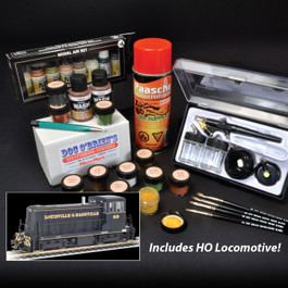 Weathering Essentials Set with Loco