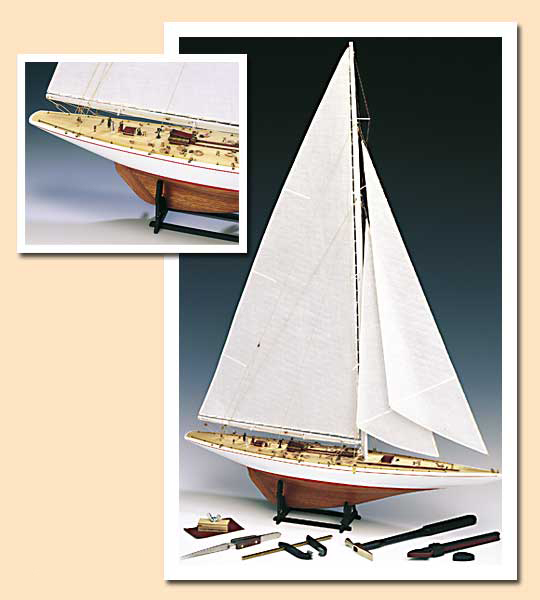 Amati Rainbow, Model Boat Kit