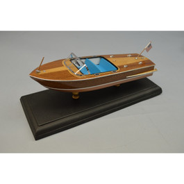 Dumas 1956 Chris Craft 21 Capri Laser Classic Models Wooden Boat Kit 124 Scale