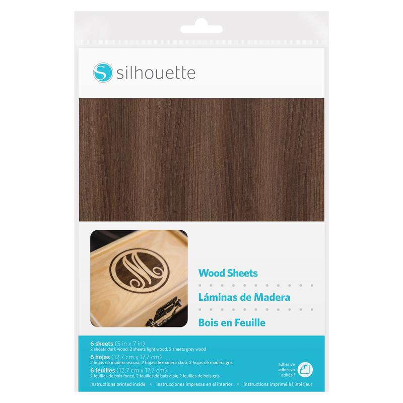 Silhouette Wood sheets, 6 sheets