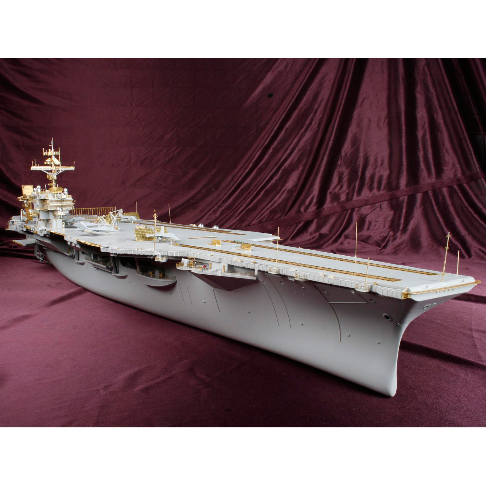 Deluxe Detail Set For Trumpeter 1 350 Scale Uss Kitty Hawk