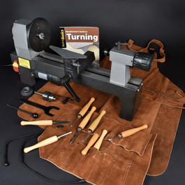 Woodturner's Lathe Super Value Pack