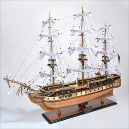 USS Constitution Assembled Model8
