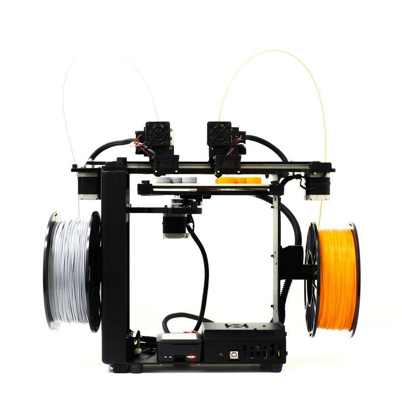 Makergear M3 Independent Dual Extruder 3D Printer