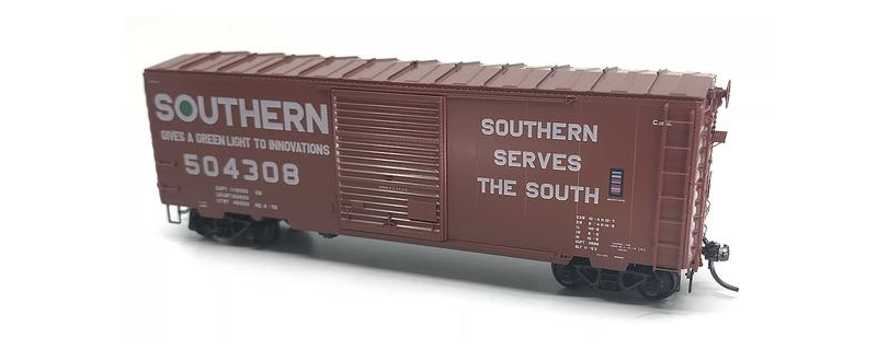 SOUTHERN PS-1 40' BOXCAR W/8' DOOR