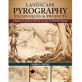 landscape pyrography book