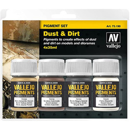 Vallejo Dust & Dirt Pigments