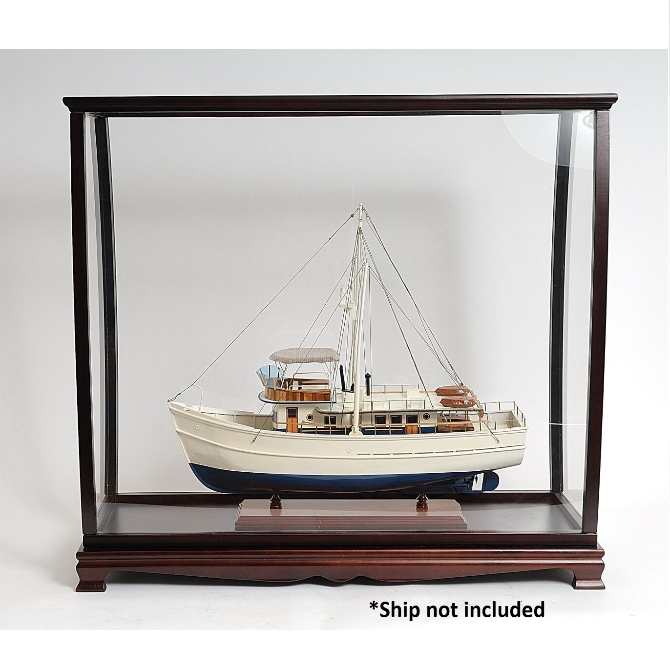 Table Top Display Case for ships