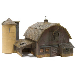 Old Weathered Barn Built & Ready