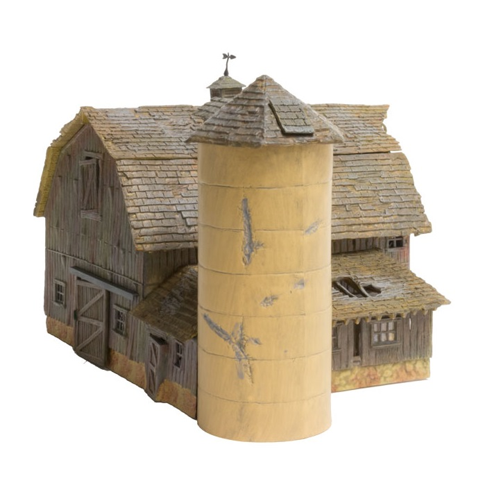 Woodland Scenics BR5038 Old Weathered Barn Built & Ready Kit