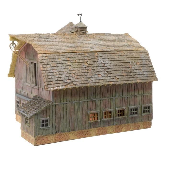 Old Weathered Barn N Scale