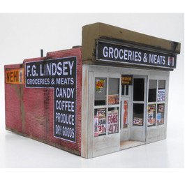 Lindsey's Grocery N Scale 2