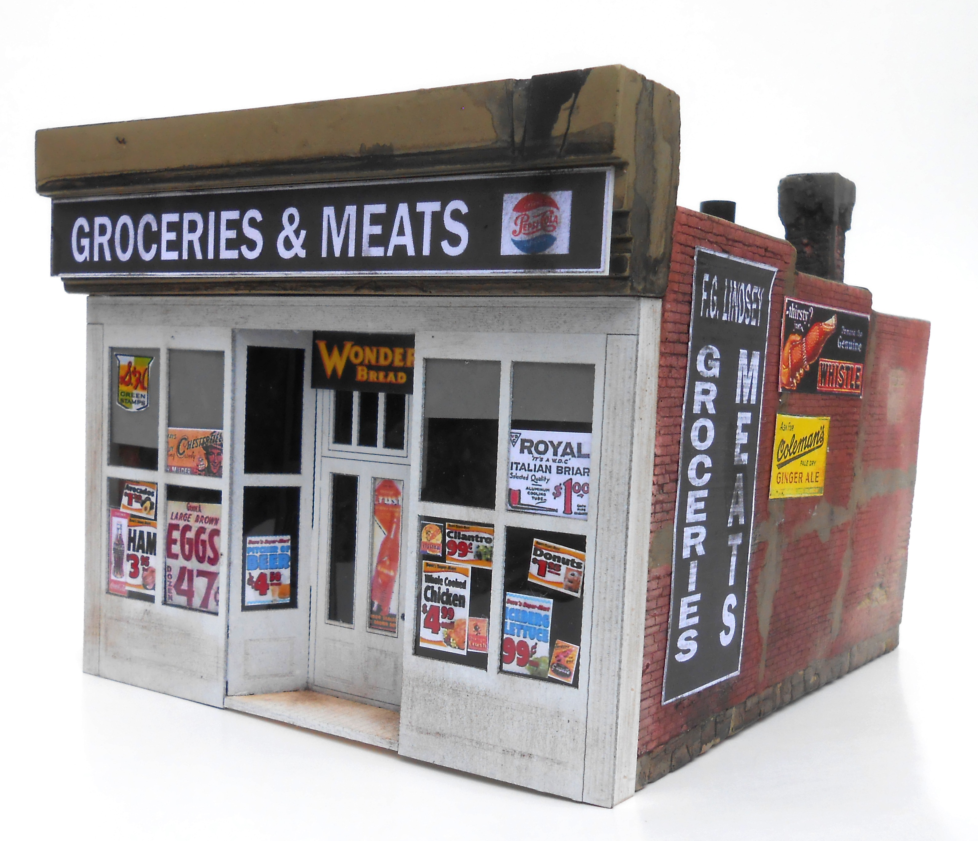 Lindsey's Grocery N Scale