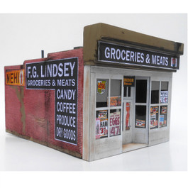 Lindsey's Grocery O Scale 2