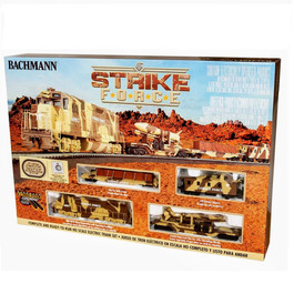 Strike Force Train Set